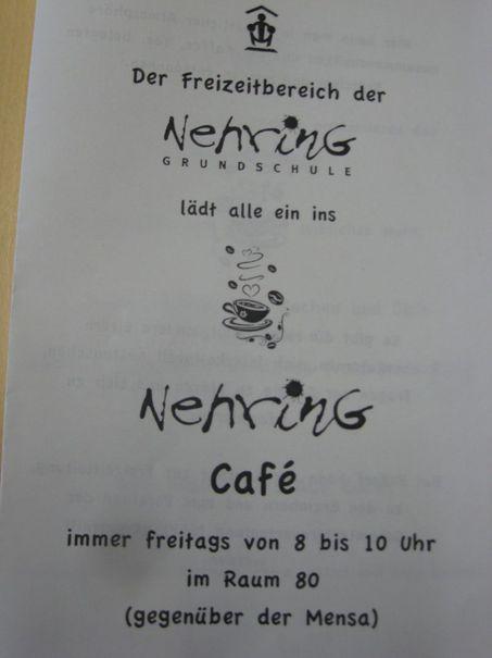 Plakat Elterncafe